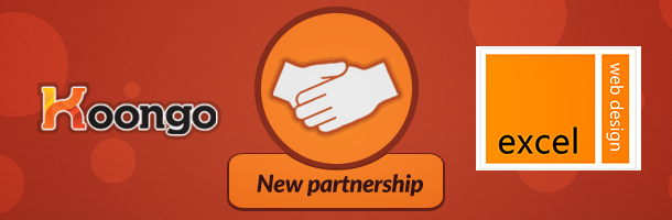 Excel Web Design – Koongo Partnership!