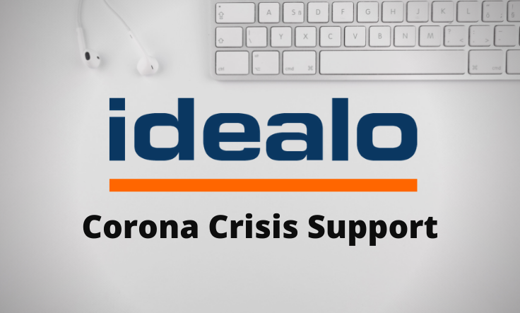 idealo: Support For Retailers In The Corona Crisis