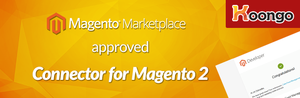 Magento Marketplace approved Connector for Magento 2