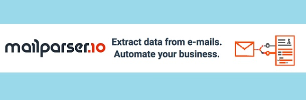MailParser.io – extract data from e-mails