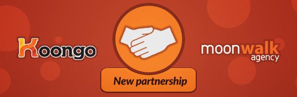 Moonwalk Agency become Koongo Solution Partner!