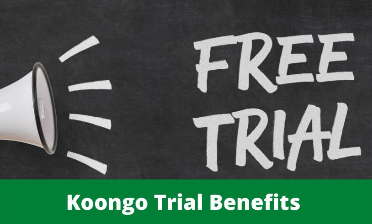 koongo trial service